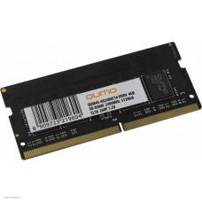 Модуль памяти SODIMM DDR4 SDRAM 4096 Mb (PC-19200, 2400MHz) QUMO (QUM4S-4G2400C16)