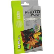 Фотобумага Cactus CS-MA617050 матовая, 10x15, 170 г/м2, 50 листов
