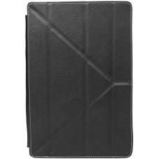 Чехол для планшета универсальный Continent UTS-102 BL 10,1' эко кожа/пластик, черный