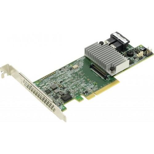 Контроллер RAID Intel RS3DC080 934643 (LSI SAS 3108, SAS/SATA RAID, 1Gb DDR3, PCI-Ex8, 2x miniSAS HD