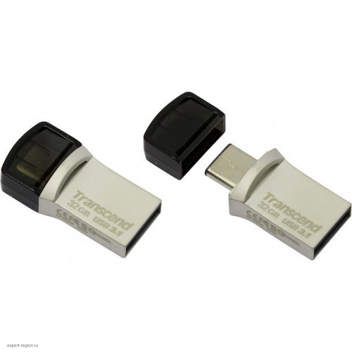 Накопитель USB 3.0 Flash Drive 32GB Transcend JetFlash 890 (TS32GJF890S)