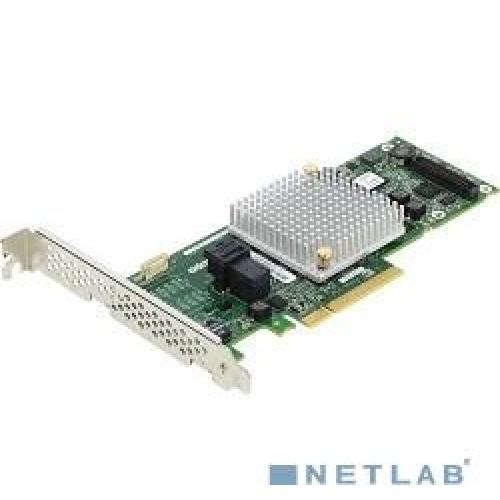 Контроллер SAS Adaptec ASR-8405 (PCI-E v3 x8, LP, SGL SAS 12G, RAID 0,1,10,5,6,50, 4port(int1*SFF8643) 1Gb (2277600-R)