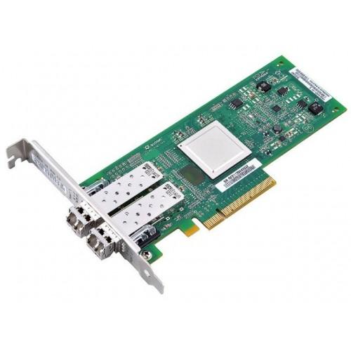 Контроллер Qlogic QLE2562-CK FC PCI-E DUAL