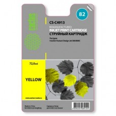 Картридж C4913 (№82) HP DJ 500/800C yellow (CACTUS)
