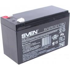 Аккумулятор Sven SV1270, 12V 7Ah