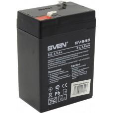 Аккумулятор Sven SV645, 6V 4.5Ah