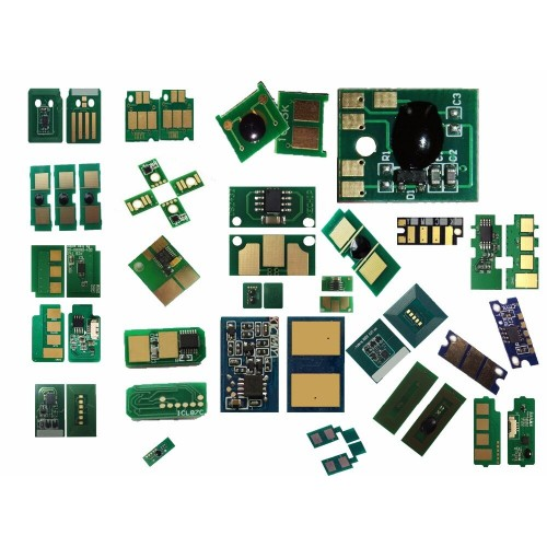 Чип для картриджа Kyocera FS-C5300DN/C5350DN YEllow (China) TK-560, 10000 стр.