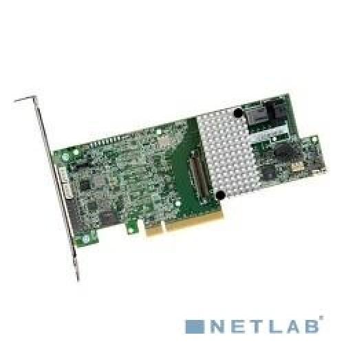 Контроллер LSI MegaRAID SAS 9361-4I (PCI-E 3.0 x8, LP) (LSI00415) SAS12G/s, RAID 0/1/10/5/6/10/50/60, 1GB DDR3 onboard