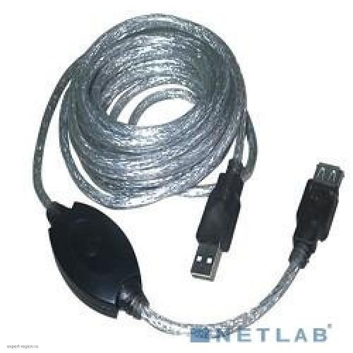 Кабель USB 2.0 Am-Af-repeater VCOM, удлинитель активный 25м, (VUS7049-25m)