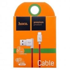 Кабель USB - micro USB Hoco UPM10 для HTC/Samsung (red)