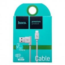 Кабель USB - micro USB Hoco UPM10 для HTC/Samsung (white)