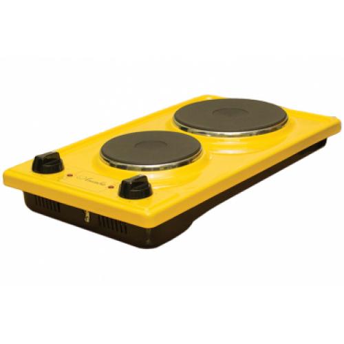 Плитка Лысьва электрическая ЭПЧ2-2,2-220 желтая