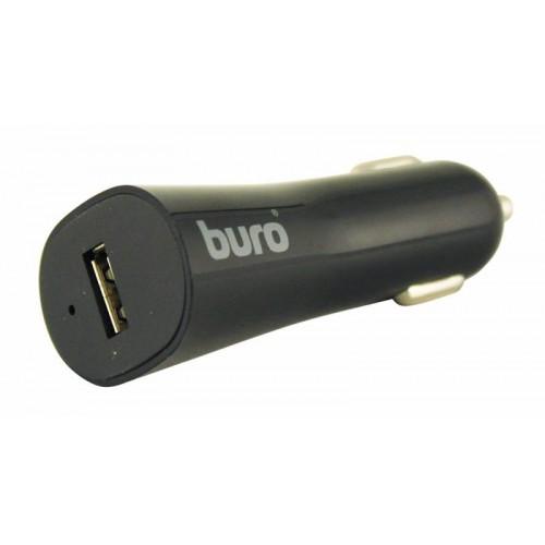 Автомобильное зарядное устройство Buro TJ-186, USB, 2.4A, black