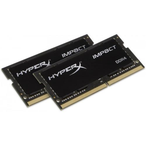 Комплект модулей SODIMM DDR4 SDRAM 2*16384Мb CL14 Kingston HyperX Impact