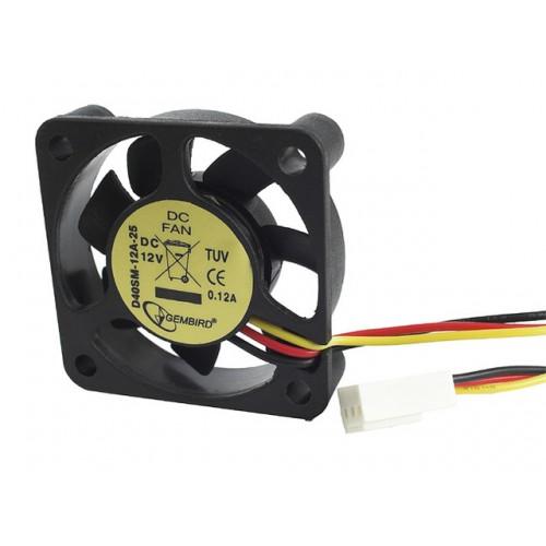 Вентилятор  40х40х10мм (D40SM-12A)