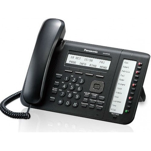 IP-телефон Panasonic KX-NT553RU-B IP, черный