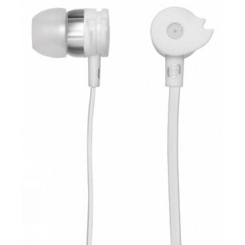 Наушники с микрофоном Oklick HS-S-210 (20-20000Гц, 16 Ом,1.2 м) White