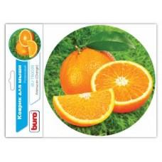 Коврик для мыши BURO BU-T60039 рисунок/апельсин