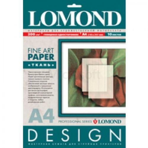 Фотобумага Lomond 0920041 A4/200г/м2/10л./белый глянцевое лён для струйной печати