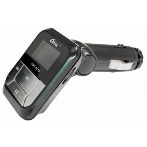 Автомобильный FM-модулятор Ritmix FMT-A710 black microSD USB PDU (FMT-A710)