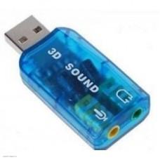 Звуковая карта C-Media CM108 TRUA3D 2.0-ch, 5.1-ch virtual, USB