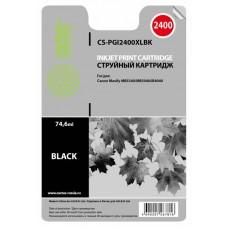 Картридж-чернильница PGI-2400XLBK (Cactus CS-PGI2400XLBK) Canon MAXIFY iB4040/ МВ5040/ МВ5340 (74.6мл) черный