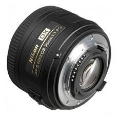 Объектив Nikon 35мм f/1.8 G AF-S DX Nikkor (JAA132DA)