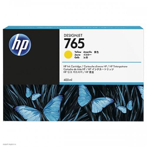 Картридж F9J50A (№765) HP Designjet Т7200 Yellow 400 ml