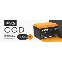 Карбоновые аккумуляторы DELTA CGD в АСК Владивосток