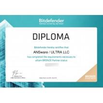 Компания ANSware — Авторизованный партнер BitDefender